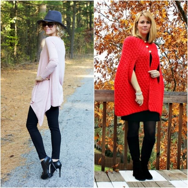 bloggers(sweaters, capes or ponchos)