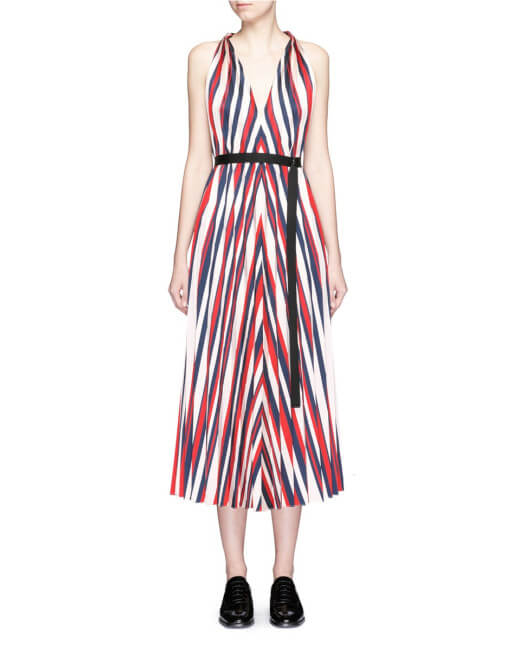 striped dress_lyst