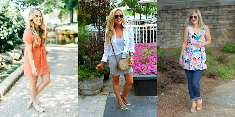 Socialie tie dresses styled by popular fashion blogger, Walking in Memphis in High Heels